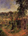 paul gauguin near rouen painting