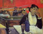 paul gauguin night cafe at arles oil paintings