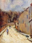 paul gauguin osny rue de pontoise winter paintings