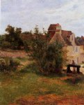 farm original paintings - osny the gate busagny farm by paul gauguin