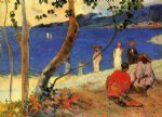 paul gauguin seashore martinique painting