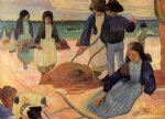 paul gauguin seaweed gatherers painting