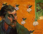 paul gauguin self portrait les miserables painting