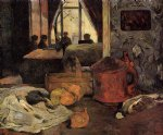 paul gauguin still life in an interior copenhagen painting-27430