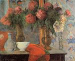 paul gauguin still life the white bowl painting-27428