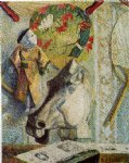 paul gauguin still life with horse s head painting 27439