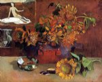 paul gauguin still life with l esperance painting 27442