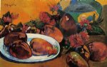 paul gauguin still life with mangoes painting 27444