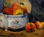 paul gauguin still life with peaches painting
