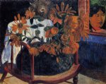 paul gauguin sunflowers paintings