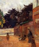 children original paintings - the artist s children impasse malherne by paul gauguin