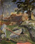 paul gauguin the gate painting