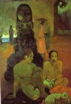 paul gauguin the great buddah painting