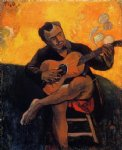 paul gauguin the guitar player painting 27518