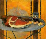 paul gauguin the ham painting