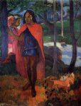 paul gauguin the magician of hivaoa painting