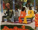 the market by paul gauguin famous paintings