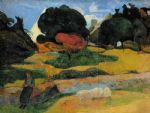 paul gauguin the swineherd paintings