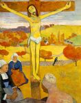 paul gauguin the yellow christ painting