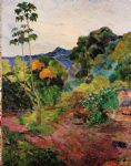 paul gauguin tropical vegetation painting