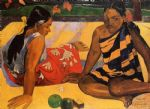 what news by paul gauguin painting