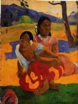 when will you marry by paul gauguin painting