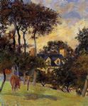 white house by paul gauguin painting