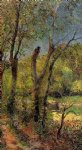 paul gauguin willows painting