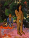 words of the devil by paul gauguin painting