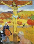 yellow christ by paul gauguin painting