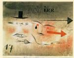 paul klee famous paintings - 17 astray by paul klee