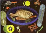 paul klee famous paintings - around the fish by paul klee