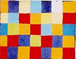 paul klee famous paintings - farbtafel by paul klee