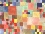 paul klee famous paintings - flora on sand by paul klee