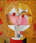 head of man by paul klee painting