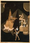 paul klee famous paintings - hexen by paul klee