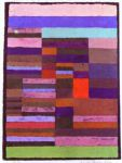 paul klee famous paintings - individualized altimetry of stripes by paul klee