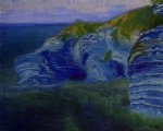 paul ranson original paintings - rocks in eskual heria by paul ranson