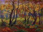 paul ranson original paintings - the clearing by paul ranson