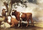 young bull by paulus potter oil paintings