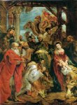 peter paul rubens adoration of the kings posters