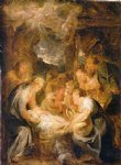 peter paul rubens adoration of the shepherds ii painting