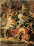 peter paul rubens adoration of the shepherds painting