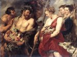 peter paul rubens diana returning from hunt painting