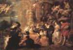 garden of love by peter paul rubens painting