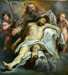 peter paul rubens holy trinity painting