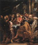 peter paul rubens last supper 2 prints