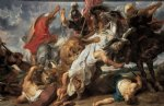 peter paul rubens lion hunt painting 26838