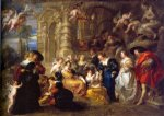 love art - love garden by peter paul rubens