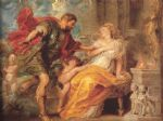 mars and rhea silvia by peter paul rubens painting